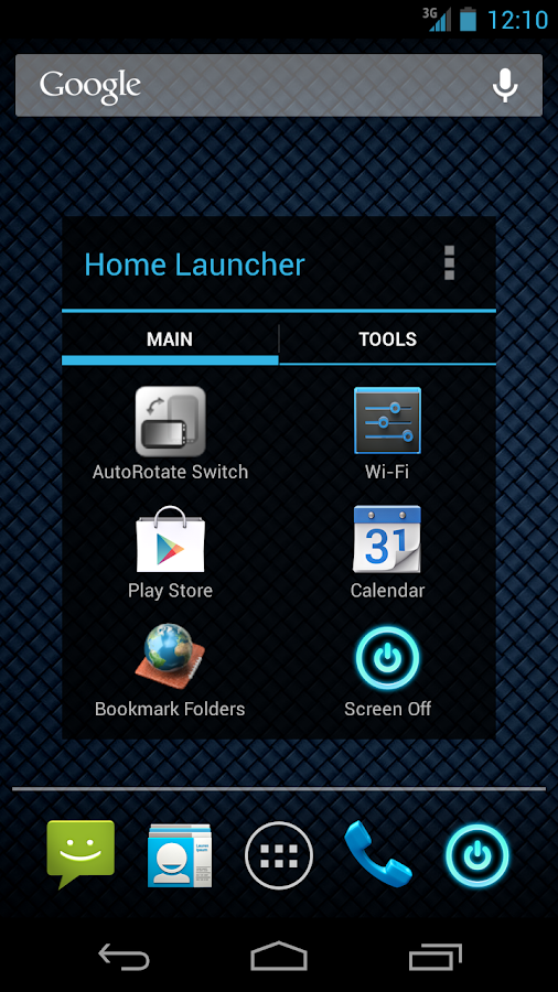 Home Button Launcher - screenshot