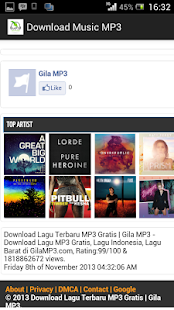 Download Music mp3 - screenshot thumbnail