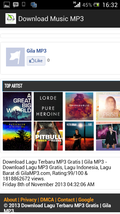 Download Music mp3 - screenshot