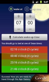 Wakeup Time- screenshot thumbnail