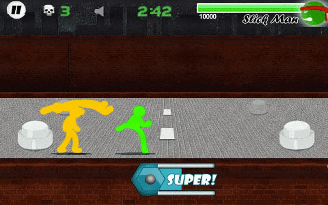 Stickman Fighter - LITE- screenshot
