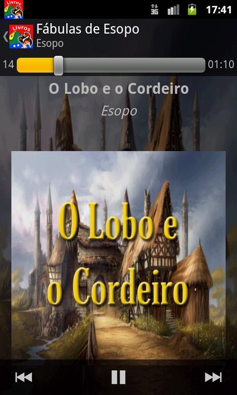 Livros em Português: captura de tela