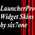 LauncherPro BNW Inverted logo