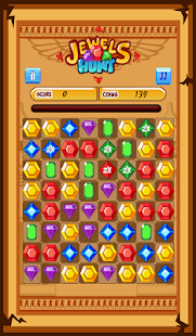 Jewels Hunt Match 3- kids game - screenshot thumbnail