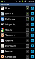 Screenshot of All English Dictionary