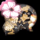 GO SMS - Flower Charm