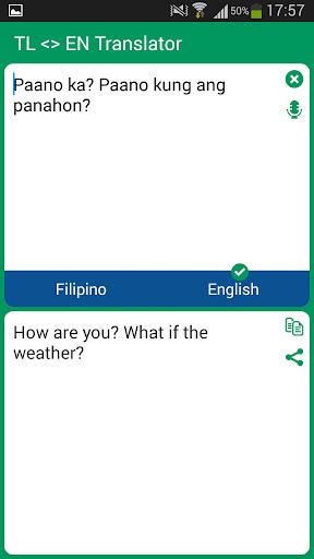 filipino english What is tagalogtranslatecom tagalogtranslatecom is an online machine translation just like google translate or microsoft translator it helps you translating sentences or words from tagalog to english or vice versa.