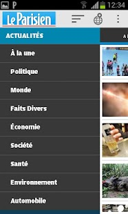 Le Parisien - screenshot thumbnail