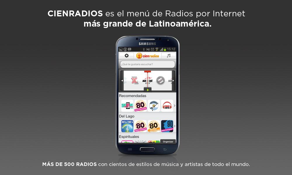 Cienradios- screenshot