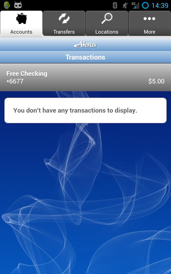 Alerus Mobile Access- screenshot