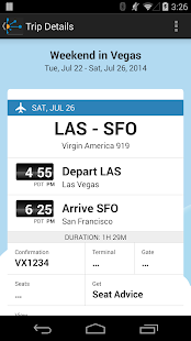 TripIt Travel Organizer No Ads - screenshot thumbnail