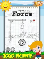 Screenshot of Jogo da Forca