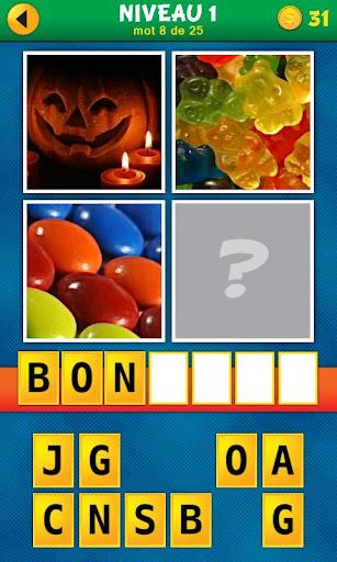 4 Images 1 Mot:Quel est le mot  screenshots 1