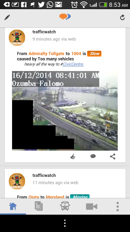 Tsaboin TrafficTalk- screenshot