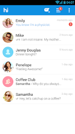 hike messenger Screenshot 1