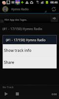 Screenshot of Hymns & Psalms Radio Stations