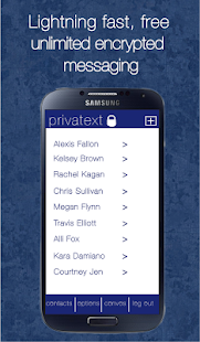Privatext - Private Messaging - screenshot thumbnail