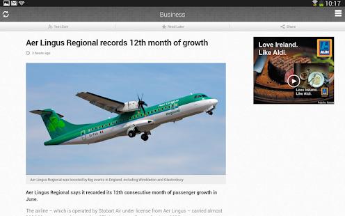 RTÉ News Now - screenshot thumbnail