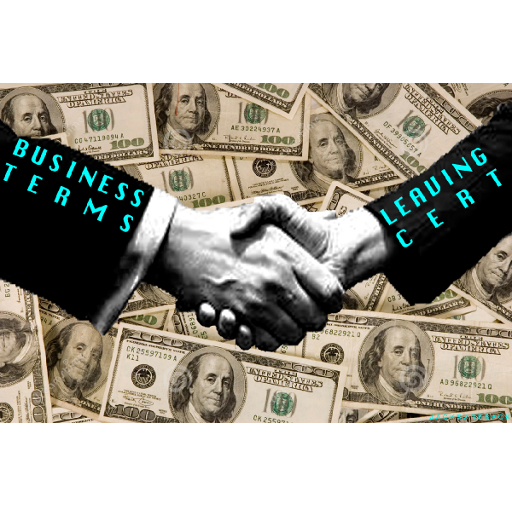 Business Terms Leaving Cert LOGO-APP點子