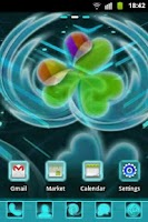 Screenshot of GO Launcher EX Theme Future B