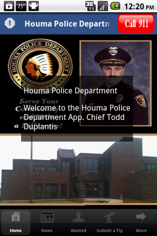 Houma Police Department