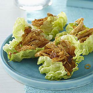 Curried Chicken Salad in Lettuce Cups.