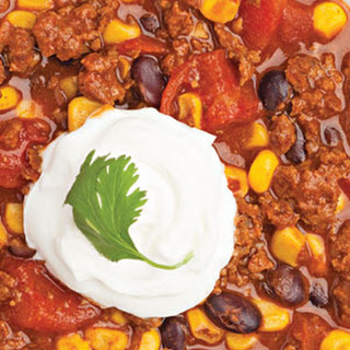 Black Bean and Corn Chili.