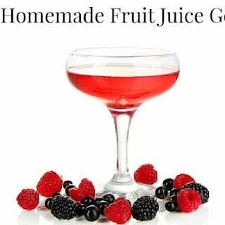 Easy Fruit Juice Gelatin