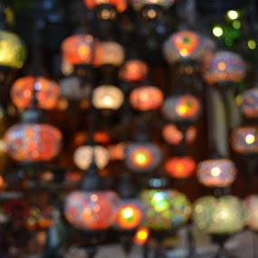 Grand Bazaar by Cal Johnson - Artistic Objects Glass ( istanbul, turkey, people, historic, crafts )