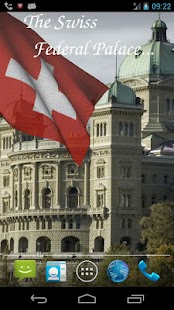 3D Swiss Flag Live Wallpaper- screenshot thumbnail