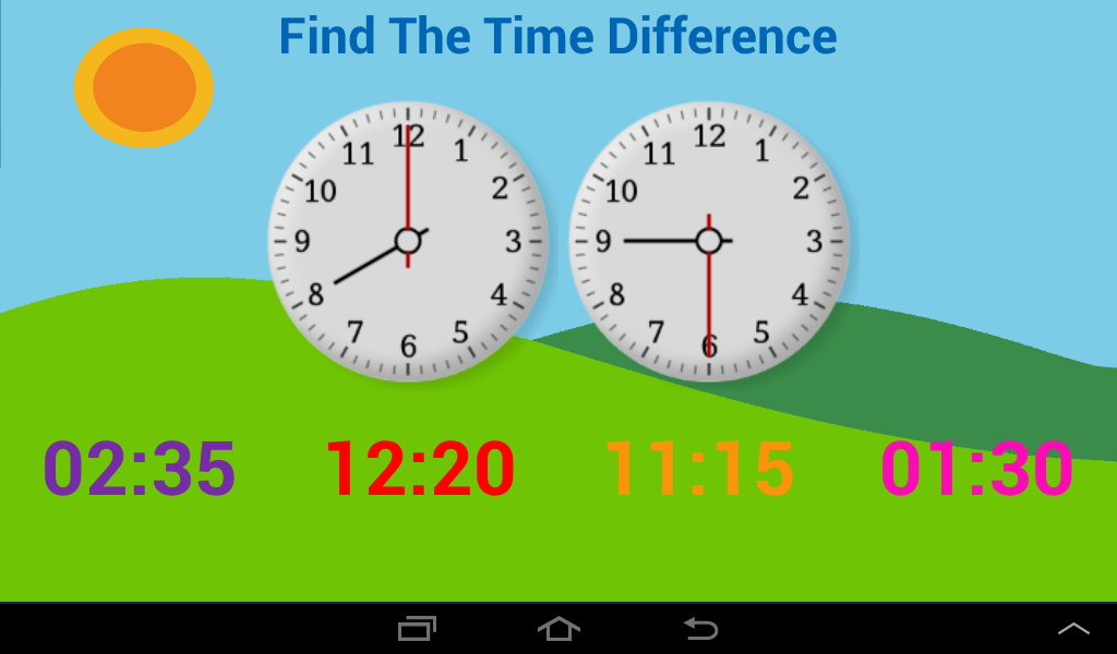 Learn Clock,Day & Month - Kids- screenshot
