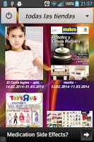 Screenshot of Catálogos y Promociones
