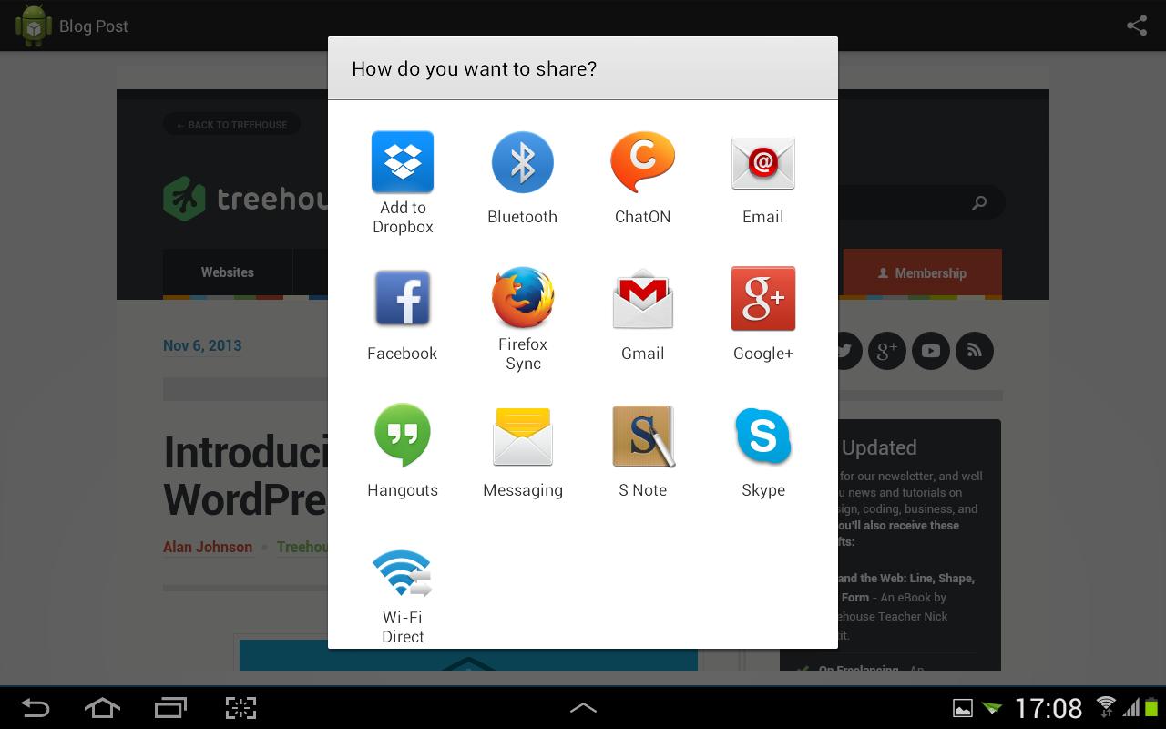 Blog Reader- screenshot