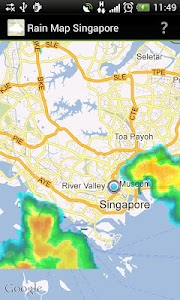 Rain Map Singapore screenshot 0