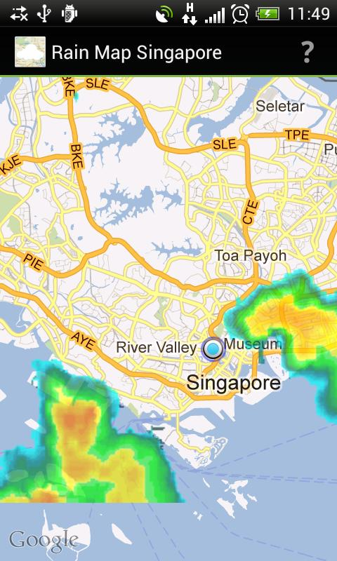 Rain Map Singapore- screenshot