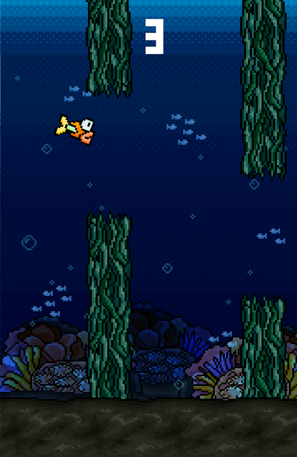 Flappy Goldy Fish- screenshot