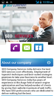 Seo Company Services India- screenshot thumbnail