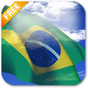 3D Brazil Flag Live Wallpaper icon