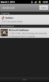 Xabber - screenshot thumbnail