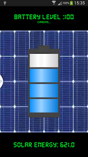 Solar Charger Android AppPrank- screenshot thumbnail