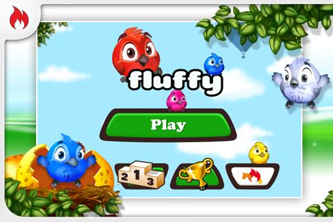 Fluffy Birds FREE - screenshot