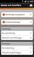 Screenshot of Sparbanken företag