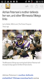 NOLA.com: Saints News- screenshot thumbnail
