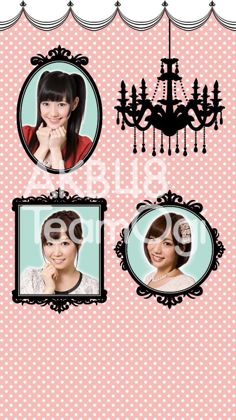 AKB48 TeamOgi Live Wall Paper - screenshot