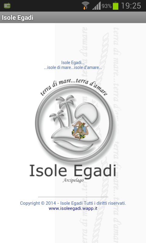 Isole Egadi- screenshot