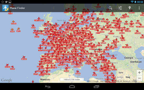 Plane Finder Free - screenshot thumbnail