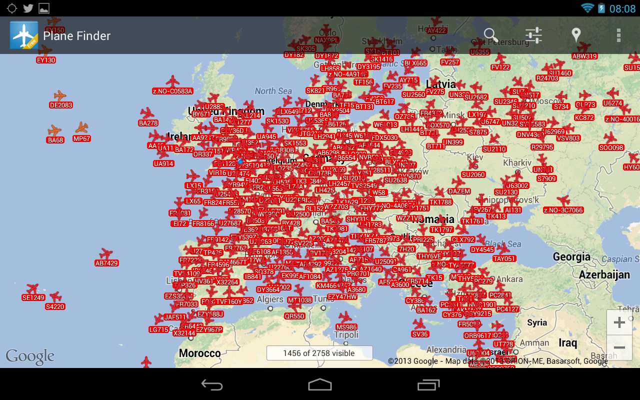 Plane Finder Lite- screenshot