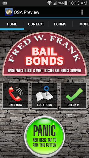 Fred W Frank Bail Bonds