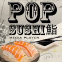 Pop Sushi Media Player Beta logo