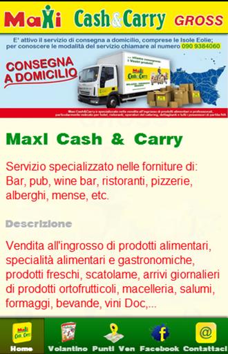 Maxi Cash Carry